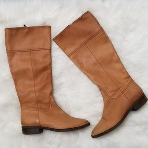 J. Crew | Nottingham Tall Leather Riding Boots